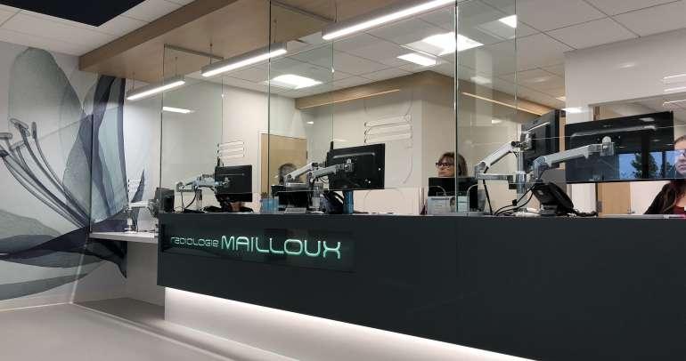 Radiologie Mailloux est maintenant réouverte au Complexe SYNASE!
